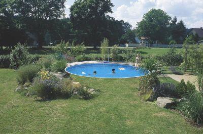 Schwimmbad pool stahlwandbecken rundpool 4 60 x 1 20 m for Schwimmbad innenfolie