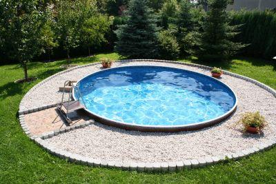 schwimmbad pool stahlwandbecken rundpool 4 60 x 1 20 m schwimmbecken ebay. Black Bedroom Furniture Sets. Home Design Ideas