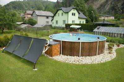 Stahlwandpool umrandung  Schwimmbad Pool Stahlwandbecken Rundpool 4,60 x 1,20 m ...