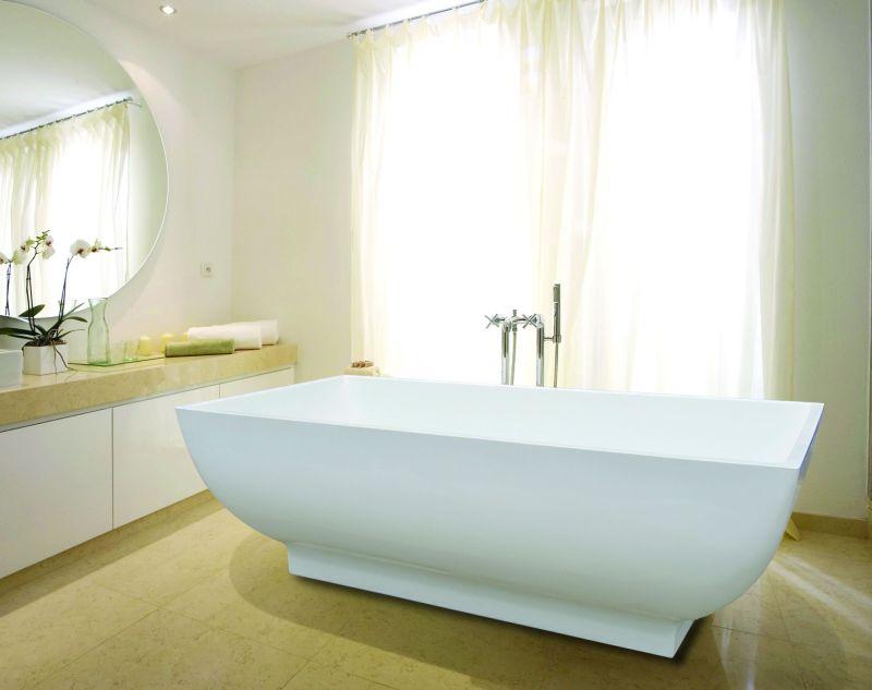 freistehende badewanne design 180x85cm spirato modell804 acryl wanne freistehend ebay. Black Bedroom Furniture Sets. Home Design Ideas