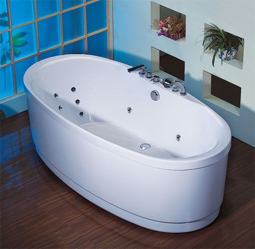 freistehende whirlpool badewanne virginia wms indoor massage badewanne ebay. Black Bedroom Furniture Sets. Home Design Ideas