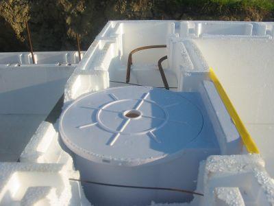 Pool Bauteil Skimmer