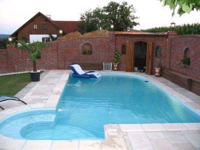 Styroporstein iglu 2000 styropor ziegel f r schwimmbad pool bau schalstein ebay - Pool selber betonieren ...