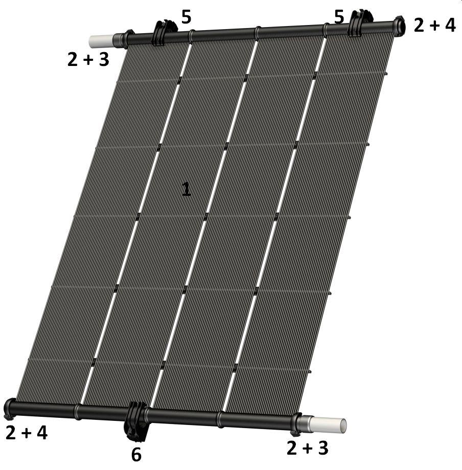Heliocol Solarabsorber Bestandteile