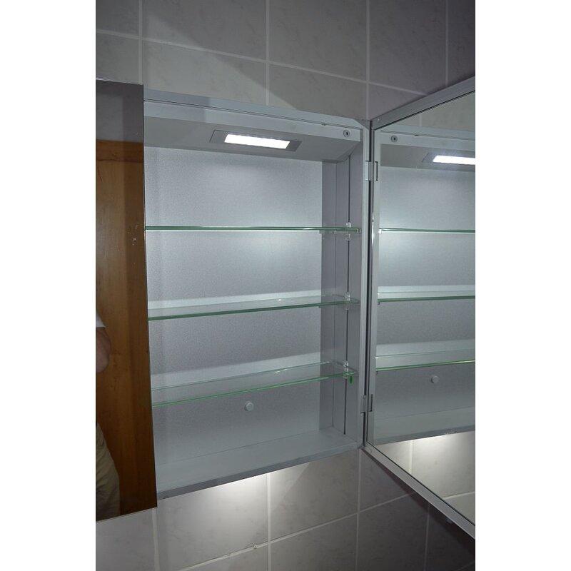 spiegelschrank mit licht jetzt g nstig kaufen 329 00. Black Bedroom Furniture Sets. Home Design Ideas
