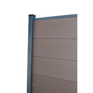 Gut bekannt WPC Sichtschutzzaun mit Aluminium-Stehern, 139,00 € TZ95