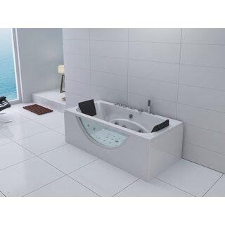 Spirato freistehende whirlwannen for Whirlpool badewanne freistehend