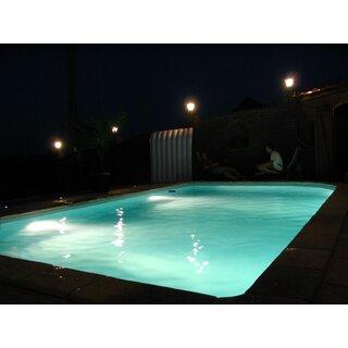 pool unterwasserscheinwerfer f r tolle lichteffekte 186 30. Black Bedroom Furniture Sets. Home Design Ideas