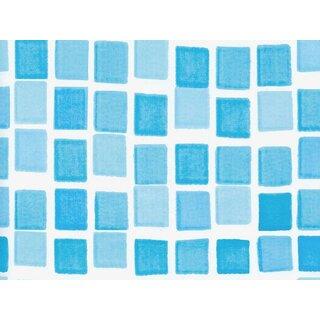 Poolfolie 5 50 X 1 20m Blau Mosaik 197 05