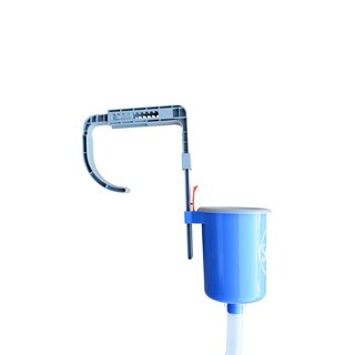 Suspension skimmer for above ground pools