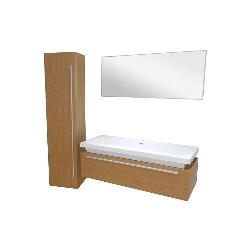 waschtisch 120cm akazie matt 245 00. Black Bedroom Furniture Sets. Home Design Ideas
