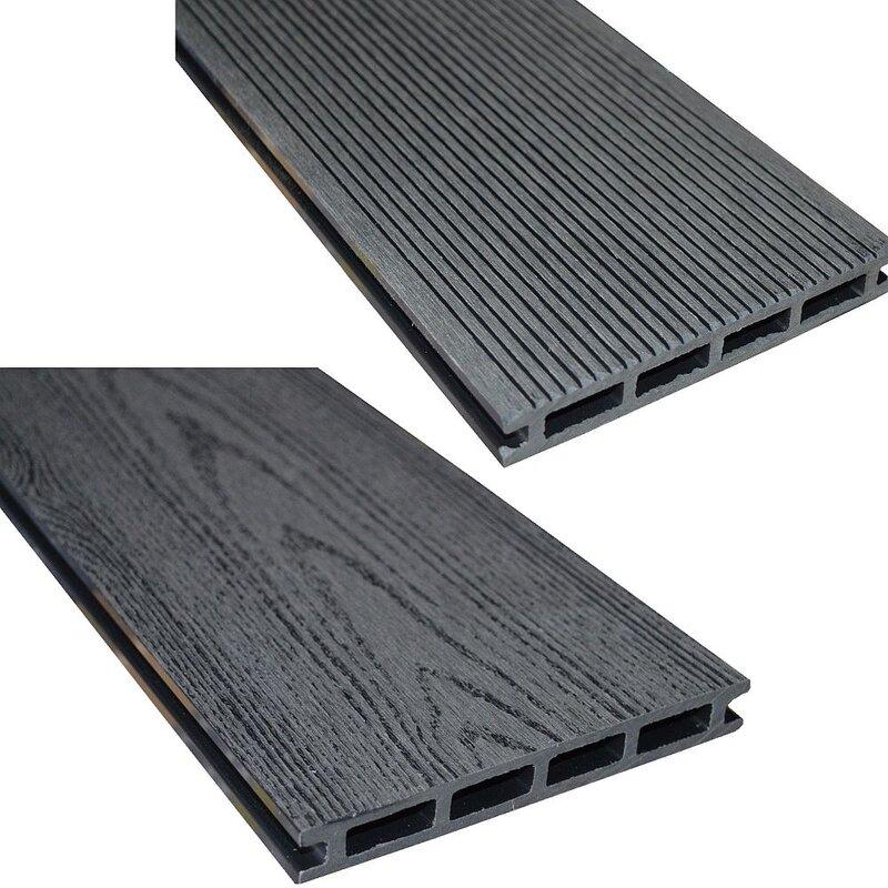 Wpc Terrassendielen In Grau Mit Toller Holzoptik 8 80