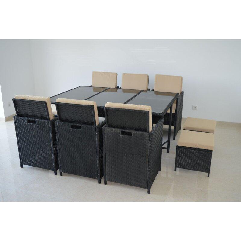 hochwertige und stilvolle rattan essgruppe 299 00. Black Bedroom Furniture Sets. Home Design Ideas